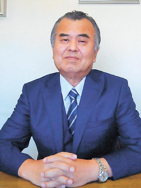 代表取締役 社長 池田 修二の近景