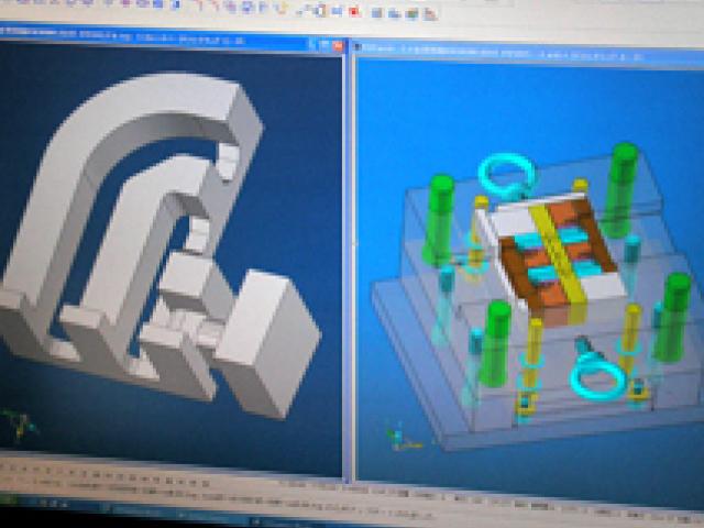 3D CAD/CAMによるプラスチック金型の設計