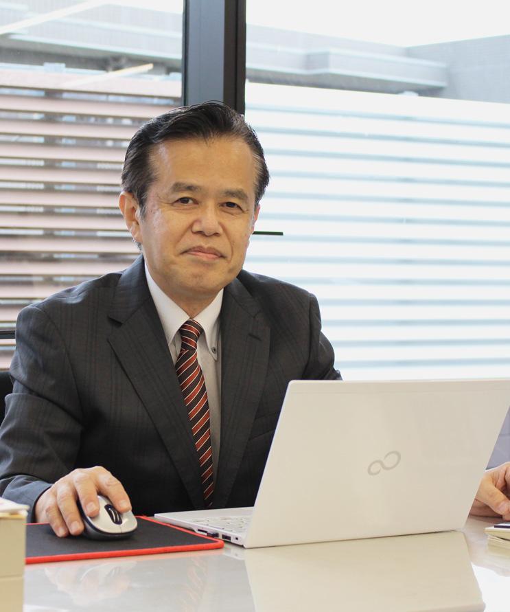 代表取締役 社長 池田 行廣の近景